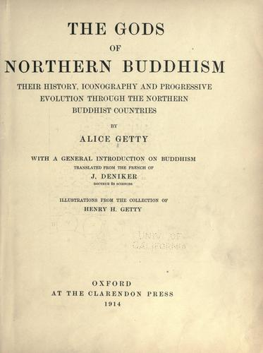 Download The gods of northern Buddhism