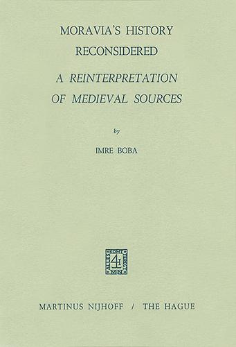 Download Moravia's history reconsidered