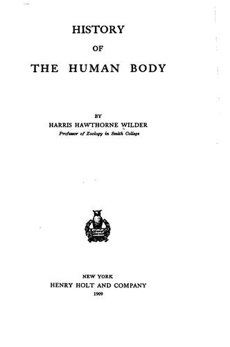 Download The history of the human body