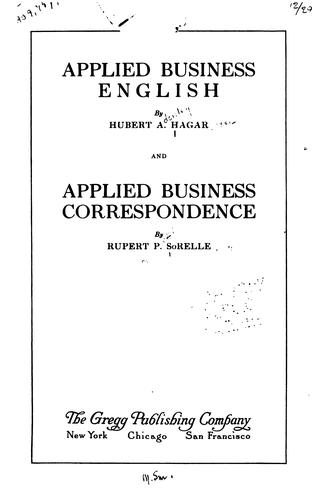 Download Applied business English