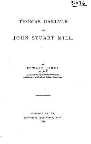 Thomas Carlyle and John Stuart Mill.