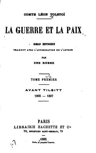 Download La guerre et la paix