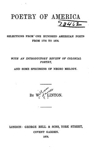 Download Poetry of America