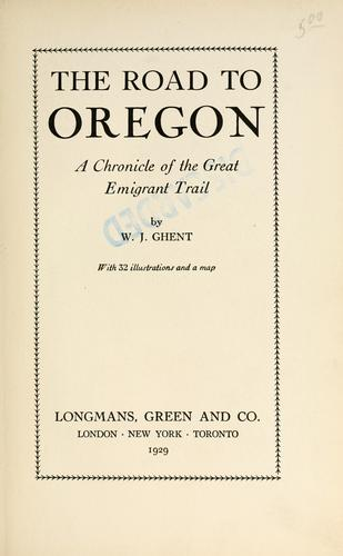 Download The road to Oregon