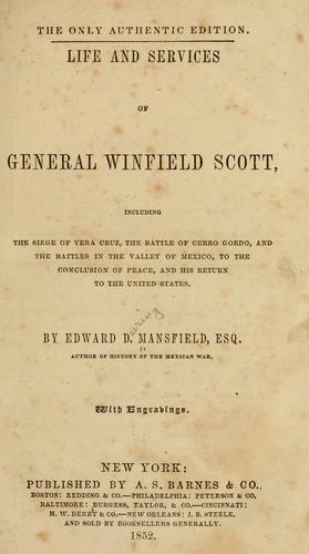 Download Life and services of General Winfield Scott