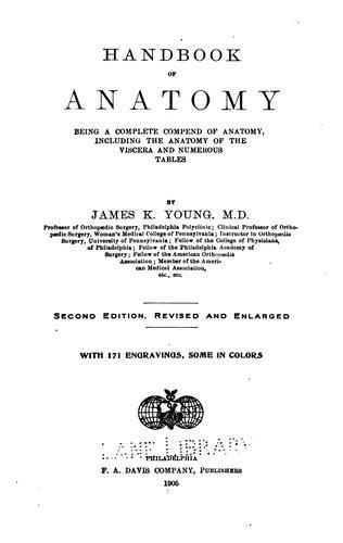 Handbook of anatomy