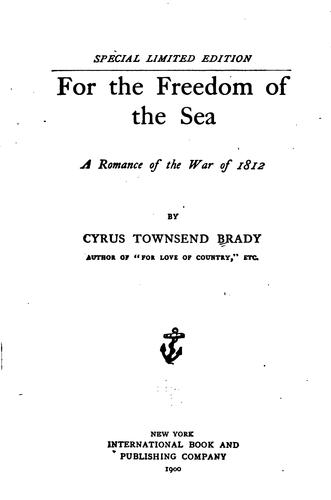 Download For the freedom of the sea