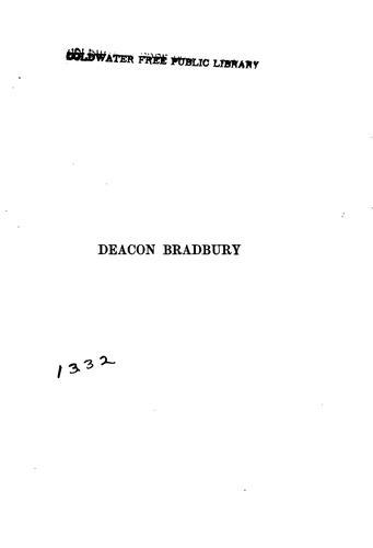 Deacon Bradbury