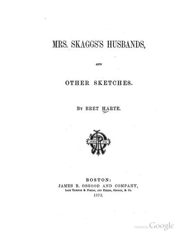 Download Mrs. Skagg's husbands