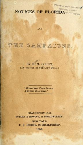 Download Notices of Florida and the campaigns