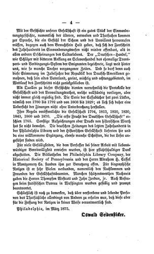 Download Geschichte der Deutschen Gesellschaft von Pennsylvanien
