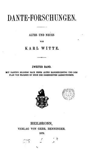 Download Dante-Forschungen.