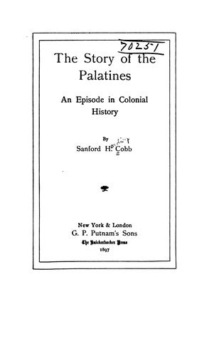 Download The story of the Palatines.