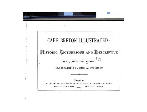 Cape Breton illustrated