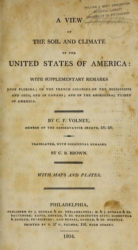 Download A view of the soil and climate of the United States of America