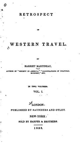 Download Retrospect of western travel.