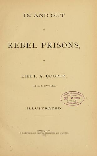In and out of rebel prisons