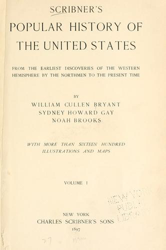 Scribner's popular history of the United States