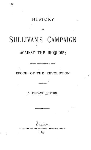 Download History of Sullivan's campaign against the Iroquois
