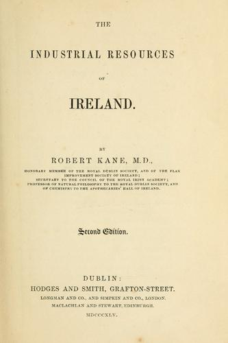 Download The industrial resources of Ireland.