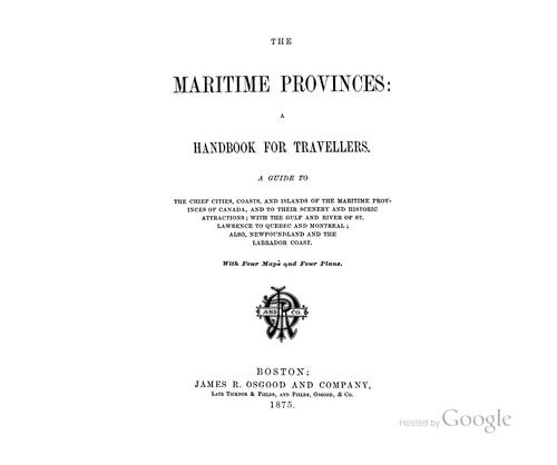 Download The Maritime provinces