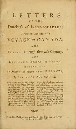 Letters to the Dutchess of Lesdiguieres