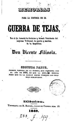 Download Memorias para la historia de la guerra de Tejas