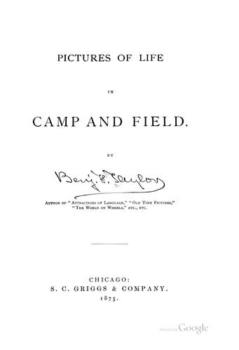 Download Pictures of life in camp and field.