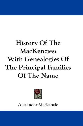 Download History Of The MacKenzies