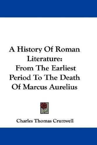 Download A History Of Roman Literature
