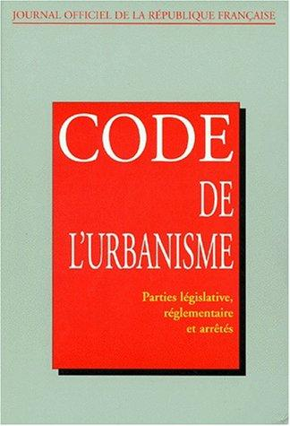 Download Code de l'urbanisme