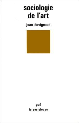 Download Sociologie de l'art