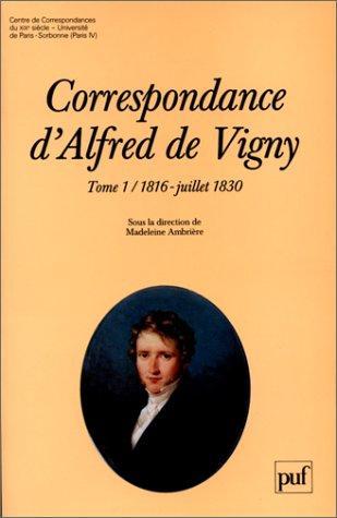 Download Correspondance d'Alfred de Vigny