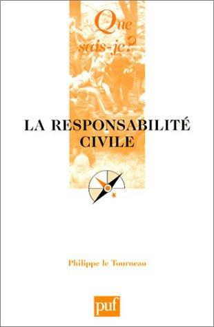Download La responsabilité civile