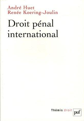 Download Droit pénal international