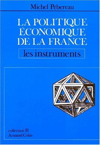 La politique économique de la France.