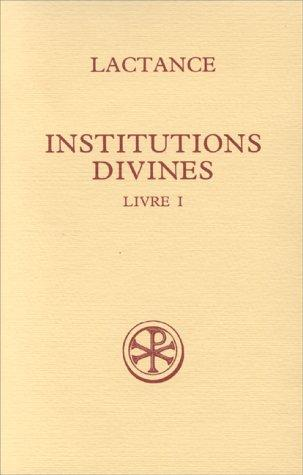 Download Institutions divines