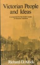 Victorian people and ideas