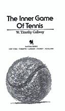 Download The Inner Game of Tennis