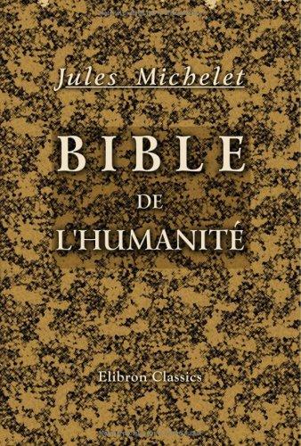 Download Bible de l'humanité