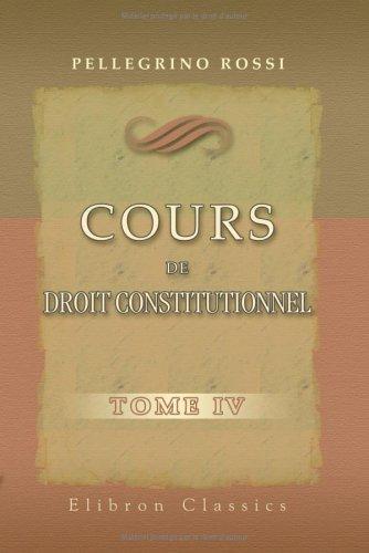 Download Cours de droit constitutionnel