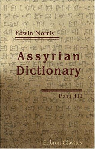 Download Assyrian Dictionary