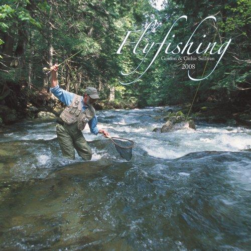 cover of  flyfishing 2008 square wall calendar by browntrout publsihers
