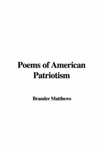 Download Poems of American Patriotism