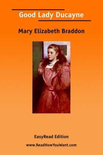 Good Lady Ducayne EasyRead Edition