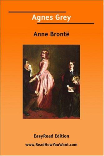 Download Agnes Grey EasyRead Edition