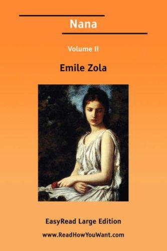 Download Nana Volume II EasyRead Large Edition