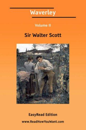 Download Waverley Volume II EasyRead Edition