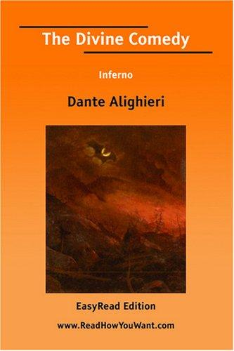 The Divine Comedy Inferno EasyRead Edition