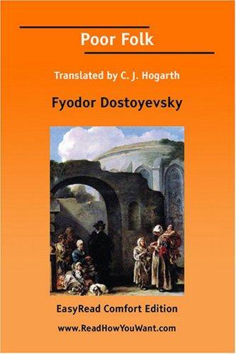 Download Poor Folk Translated by C. J. Hogarth EasyRead Comfort Edition